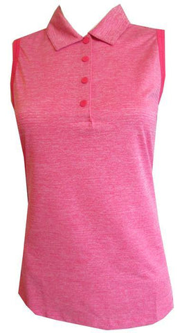 EP Pro A Place In The Sun Heathered Sleeveless Polo