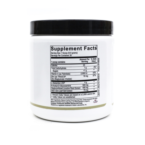 Dr. Salerno GI Factor - Dietary Supplement- Supplement Facts