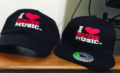 I Love House Music Snap Back Hats