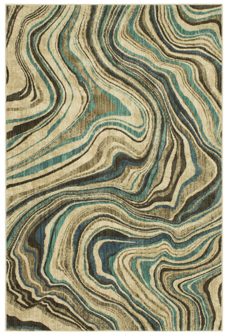 Expressions Sediment by Scott Living Lagoon 91825 50137 Rug