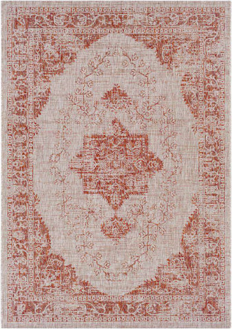 Eagean EAG 2301 Red, Gray Rug