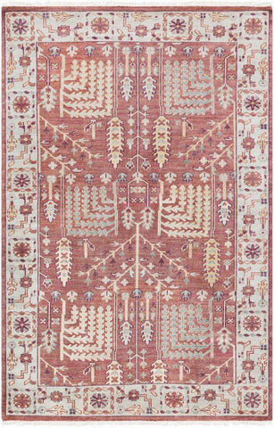 Elixir EXI 1005 Brown Red Rug
