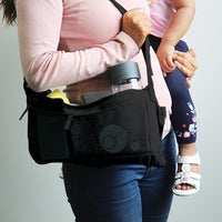*NEW* stroller organiser - black