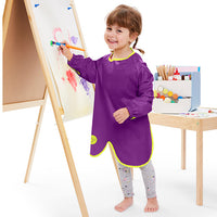 *NEW* smock bib large - passion splash