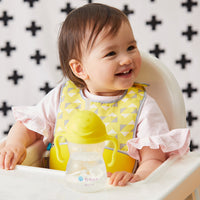 *NEW* travel bib - lemon sherbet