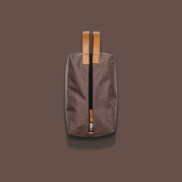 Co-Pilot Wine Bag - Heather Brown