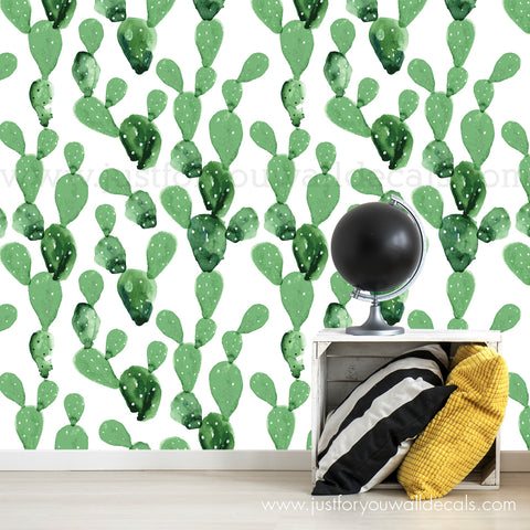 Cactus Removable Wallpaper - Desert Vibes