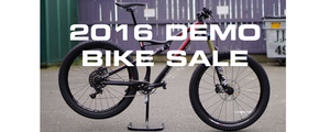 2016 Demo bikes on sale now - Up to 40% off