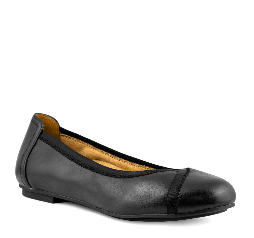 Vionic Caroll Women's Flat in Black