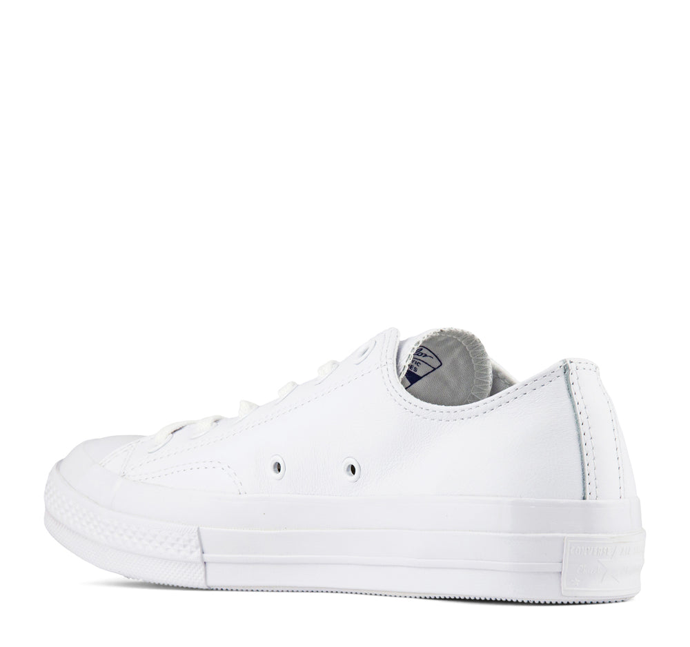 Converse Chuck Taylor All Star Leather Ox Sneaker in All White