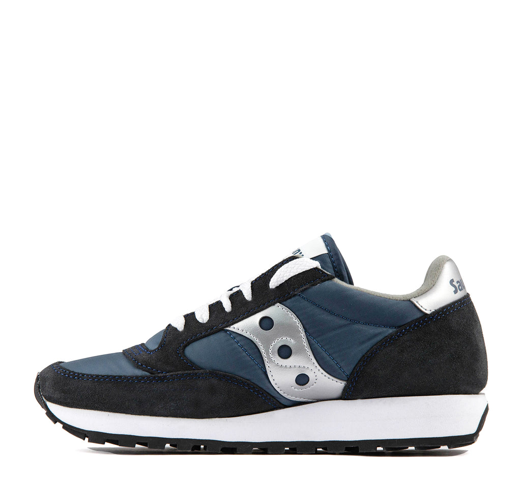 Saucony Jazz Original Women's Sneaker in Navy and Silver