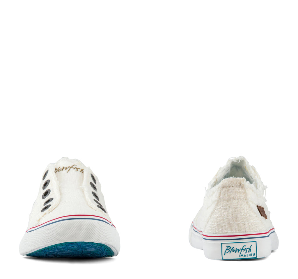 Blowfish Play Slip-On Women's Sneaker in White - Blowfish Malibu - On The EDGE