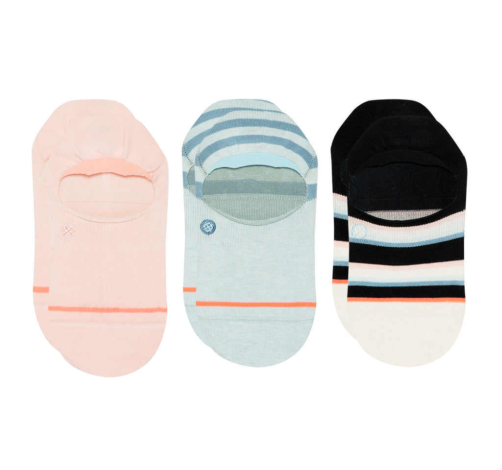 Stance Super Invisible 2.0 Socks Women's Back to Basic 3 Pack