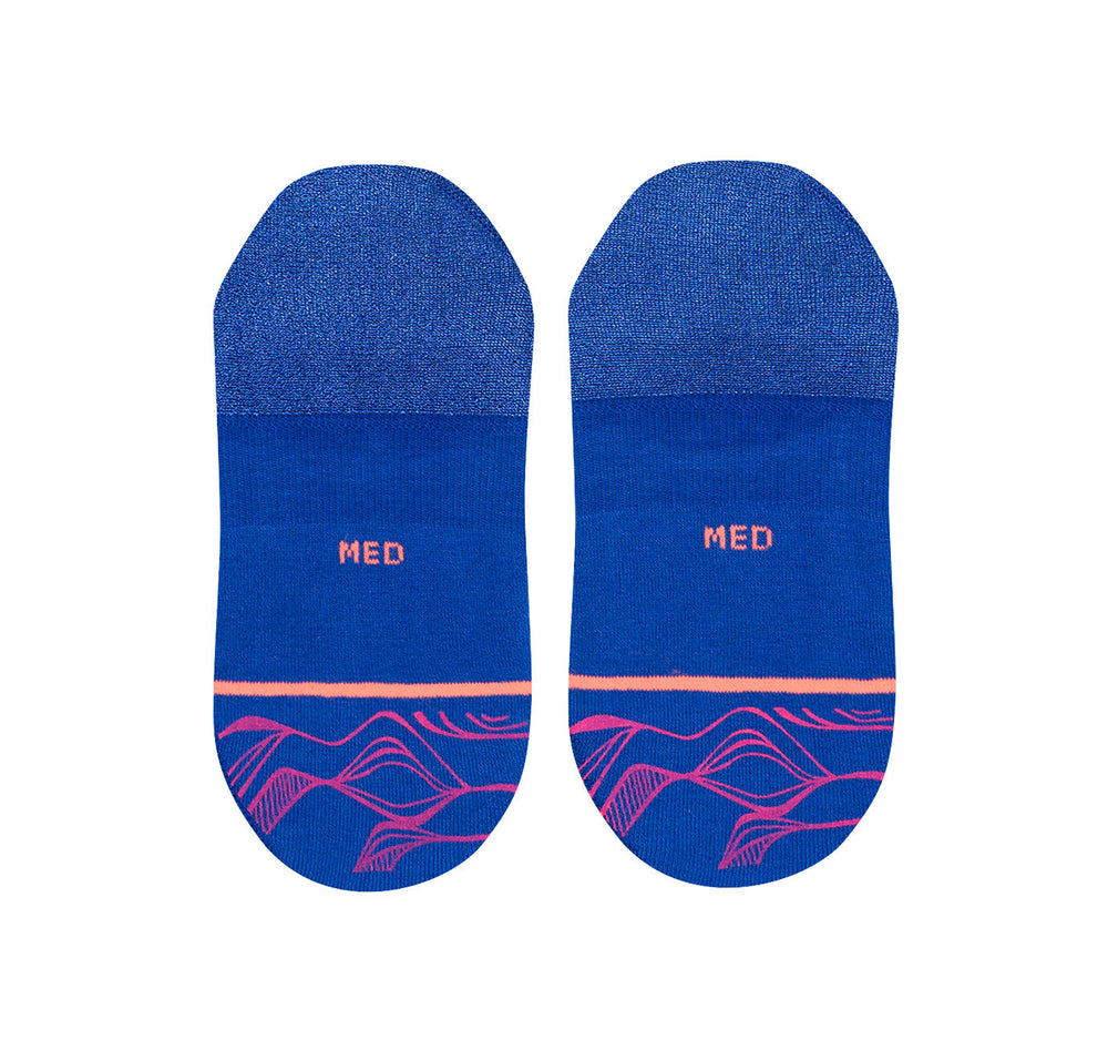 Stance Super Invisible 2.0 Women's Socks in Fluid Blue