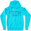 Swim Like A Girl Hoodie - Youth - SwimWithIssues Swim Shirts, Suits and t-shirts.