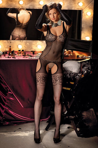 Trasparenze Edwige Fishnet Bodystocking