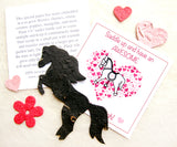 Recycled Ideas Favors plantable paper horse valentine