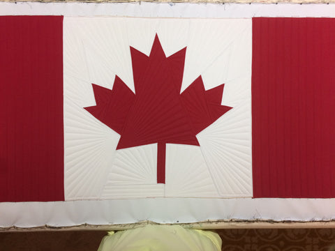 Canadian Flag Edition Freedom Mat® Patch Mat