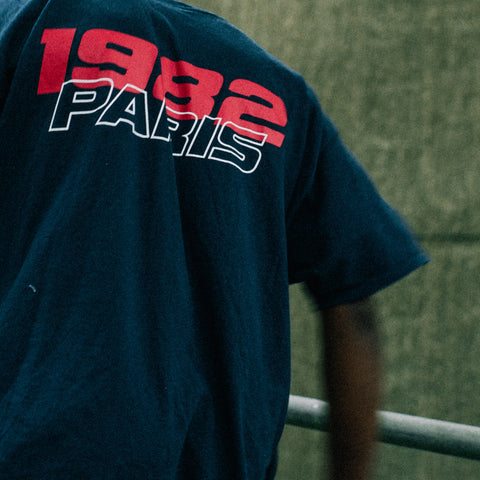 * Paris 1982 Oversize T-Shirt (Navy)