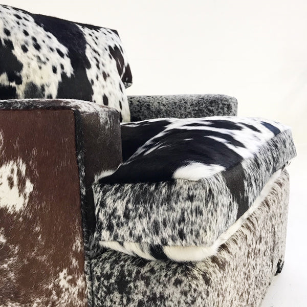 Model 3331 Chair in Brazilian Cowhide - FORSYTH