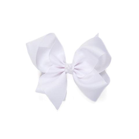 Simply Sweet White Large Bow