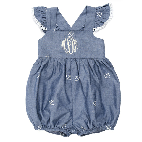 Summer Chambray Margaret Bubble
