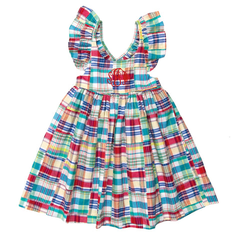 Nautical Patchwork Serena Dress