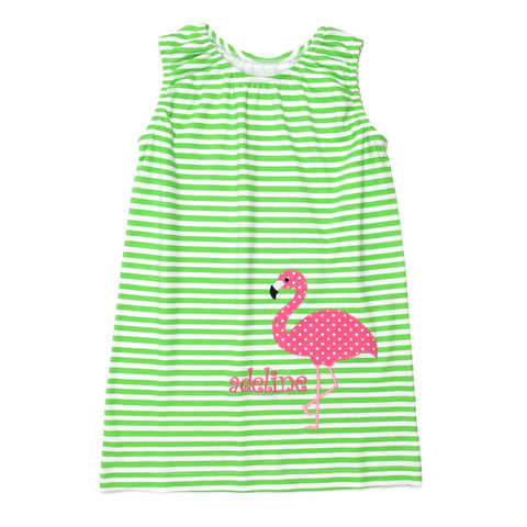 Flamingo Fun Brianna Dress