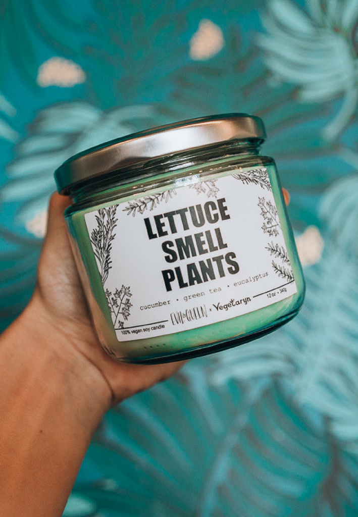 LETTUCE SMELL PLANTS (Candle)