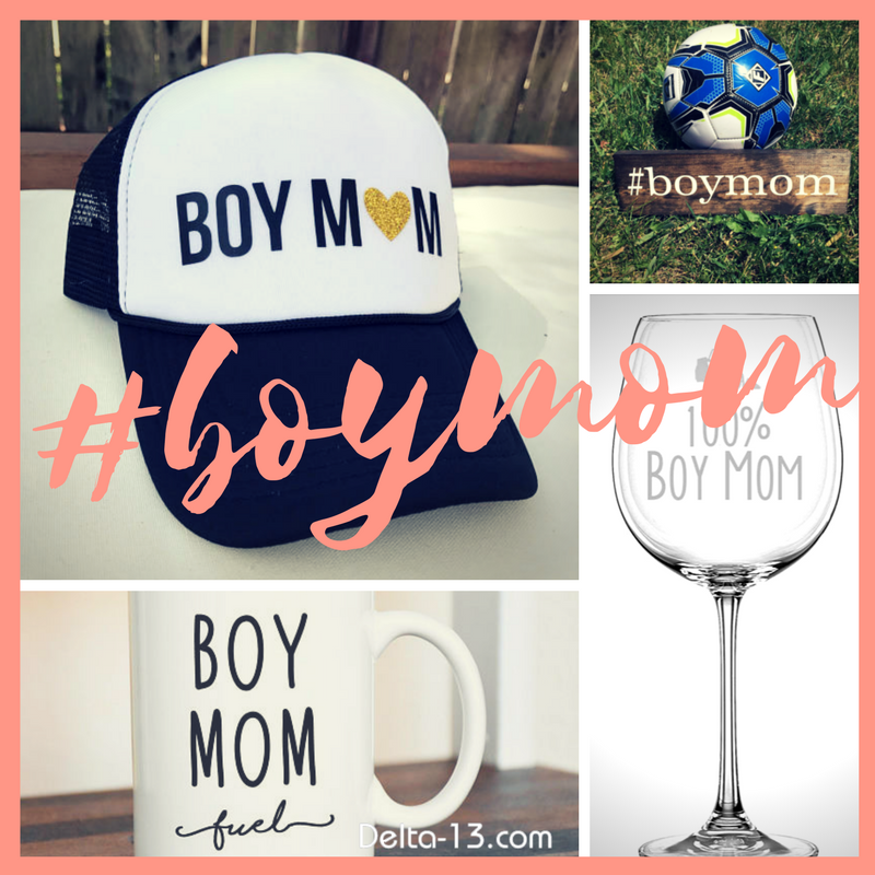 Delta-13 USA Made Home Decor Gifts for a #BOYMOM