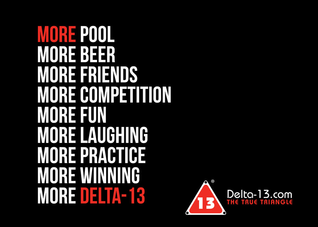 2017 New Year's Pool Resolutions with Delta-13