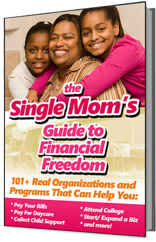 The Single Mom's Guide to Financial Freedom (101+ Real Organizations and Programs That Can Help You Pay Bills, Collect Child Support, Attend College, Start a Biz, and More!)
