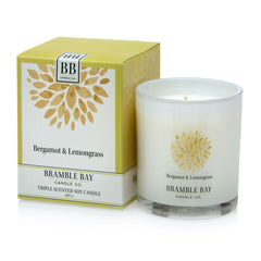 Bramble Bay - Bergamot and Lemongrass Soy Candle