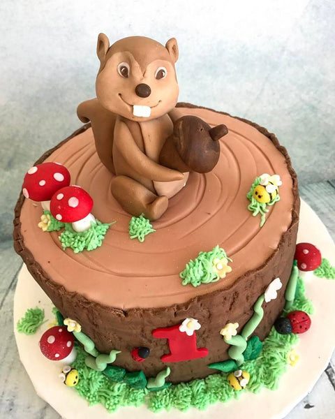 Woodland Cake - Fondant Basics - Tuesday May 15th, 5:30pm – 8:30pm