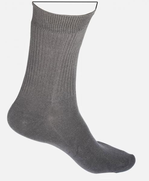 Ankle Socks - White and Grey