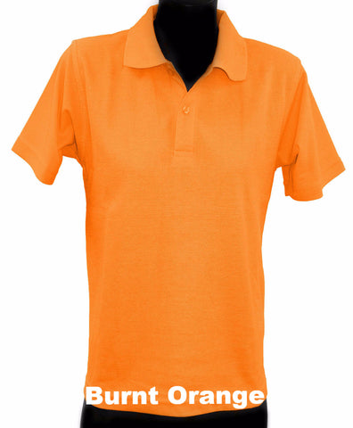 Adult - Short Sleeve Polo Top - Various Colours