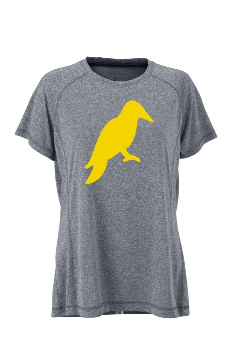 WOMENS HEATHER GREY MÉ LANGE TECH TEE - Yellowhammer Supply Co.