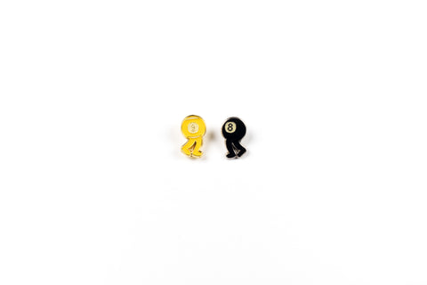 Break and Run Lapel Pin 2 Pack