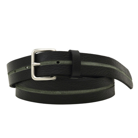 Skived Leather Belt