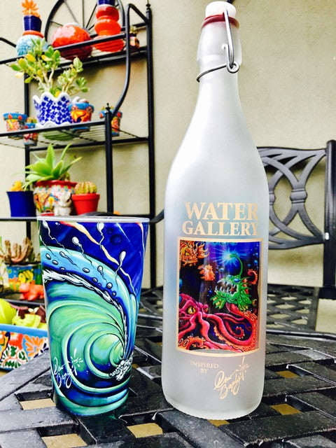 Gallery Drinkware's new Drew Brophy Under the Sea bottle and the story behind the art
