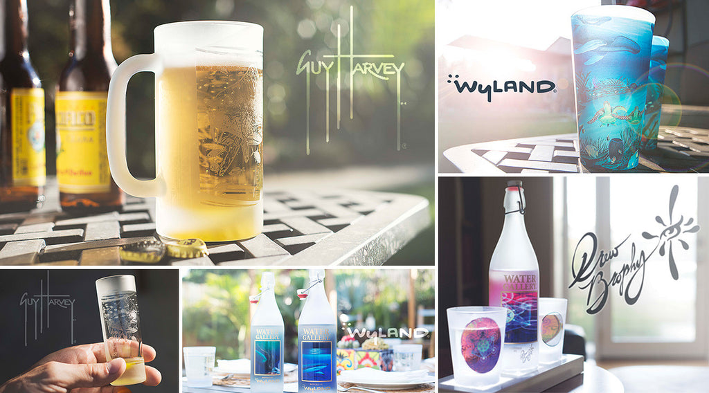 "Water Gallery's transition to ""Gallery Drinkware!"""