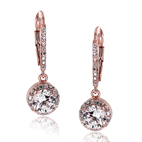 Alana's Clear Swarovski Elements Party Earrings