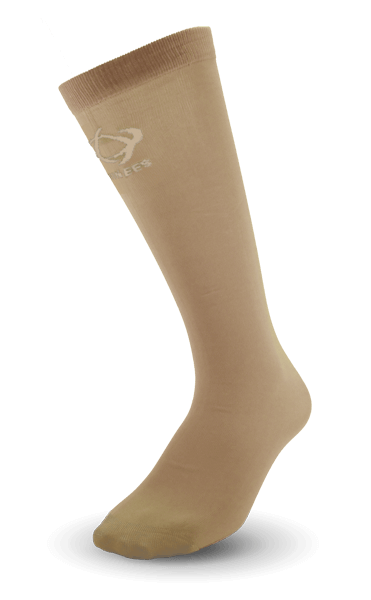 Thinees Beige Skating Socks