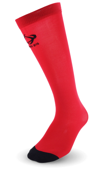 Thinees Crimson Red Hockey Socks