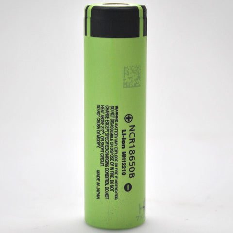 Panasonic NCR18650B 6.8A 3400mAh Flat Top Battery