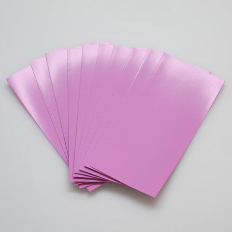 21700 PVC Heat Shrink Wraps - 10 pack - Pink