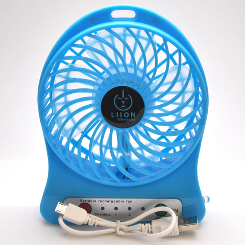 mini fan - blue set