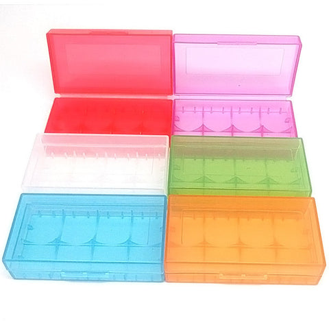 18650/18350 battery cases assorted colors