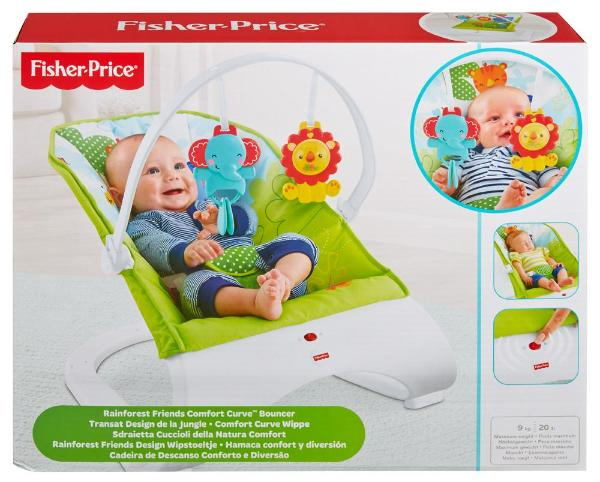 Fisher Price-Rainforest Friends Comfort Curve Bouncer
