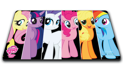 "MLP Play Mat - Mane 6 ""At the Ready"""
